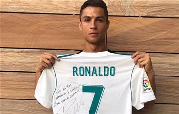 Cristiano Ronaldo tuvo noble gesto con familia mexicana