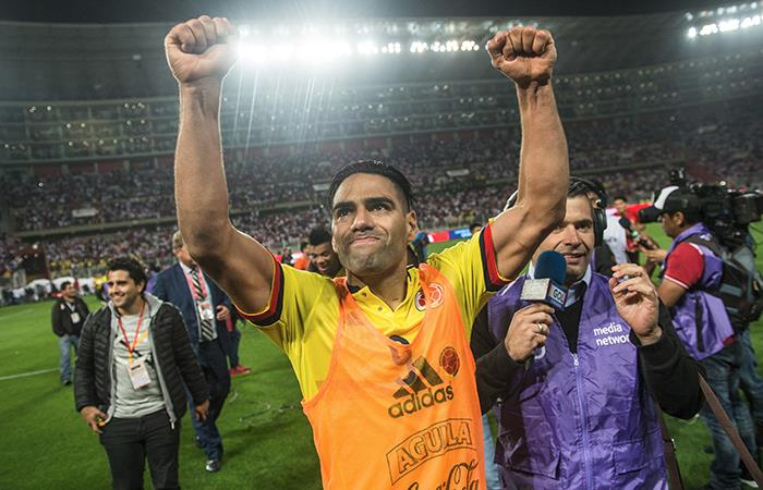 Radamel Falcao. Foto: AFP