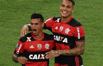 Flamengo goleó al Bahía con Paolo Guerrero y Miguel Trauco desde el arranque