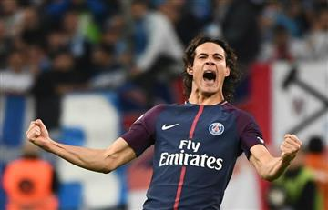 Edinson Cavaní salvó el invicto del PSG en la Ligue 1