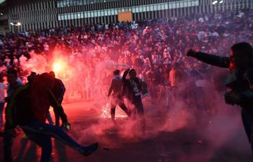Marsella vs PSG: detienen hinchas por hacer desmanes