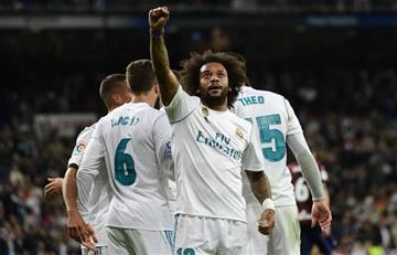Real Madrid venció sin problemas al Eibar por LaLiga