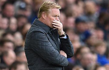 Premier League: Ronald Koeman es el tercer técnico en ser cesado