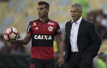 Miguel Trauco jugó en la victoria del Flamengo por la Copa Sudamericana