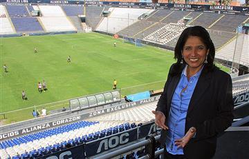 Susana Cuba se pronunció sobre supuesta venta del Estadio de Matute