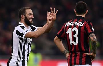 Juventus opacó al AC Milan en San Siro y lo hunde más en la Serie A