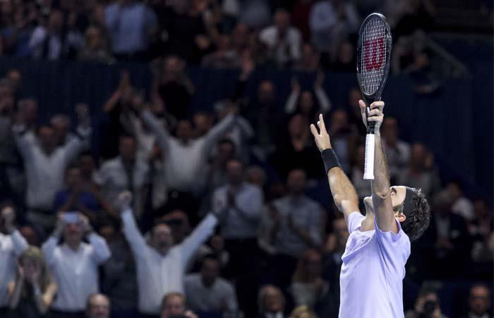 Roger Federer. Foto: AFP