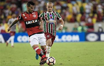 Flamengo remontó sobre el final a Fluminense y avanza en la Copa Sudamericana