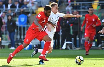 Perú vs Nueva Zelanda: las postales del empate en Wellington