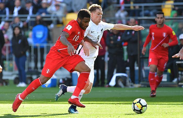 La Selección Peruana sacó empate ante Nueva Zelanda. Foto: AFP