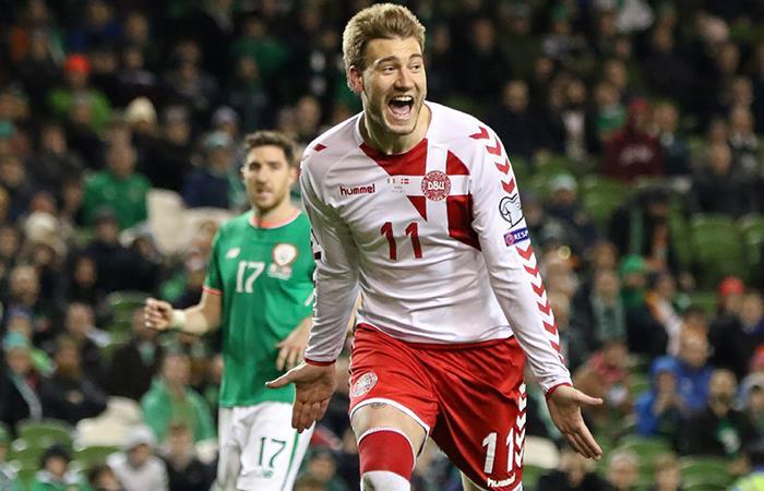 Dinamarca venció 5-1 a Irlanda y se clasificó al Mundial Rusia 2018