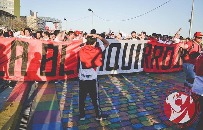 Barra Oficial 'La Blanquirroja'. Foto: Facebook