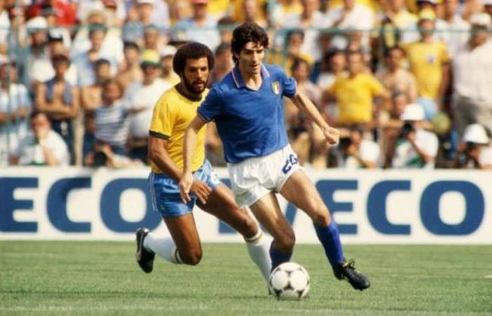 Paolo Rossi. Foto: AFP