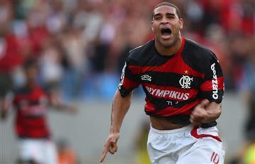 Adriano quiere volver a jugar al fútbol