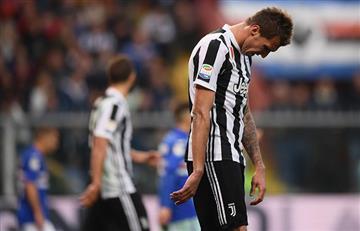 Juventus cayó en su visita a la Sampdoria