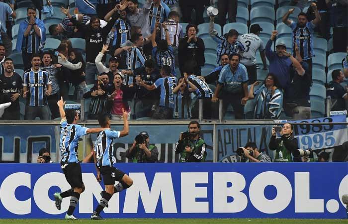 Gremio. Foto: AFP