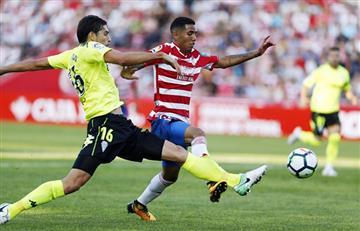 Granada de Sergio Peña derrotó al líder de La Liga 123
