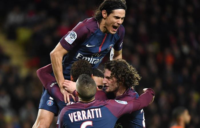 PSG es líder absoluto de la Liga de Francia (Foto:AFP)