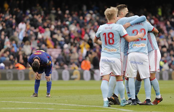 Barcelona vs Celta. Foto: AFP