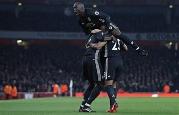 Manchester United impone su autoridad sobre Arsenal en Londres