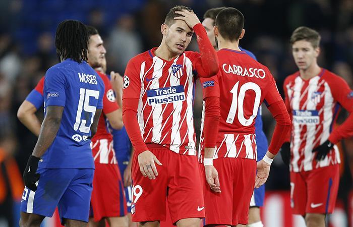 Atlético de Madrid no pudo con Chelsea y se despidió de la Champions