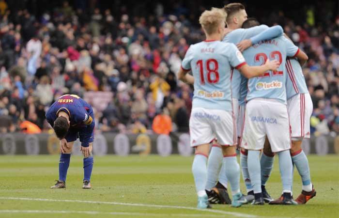 Barcelona vs Celta de Vigo. Foto: AFP