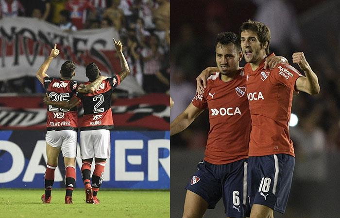Independiente vs Flamengo (Foto:AFP)