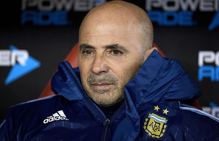 Jorge Sampaoli. Foto: AFP