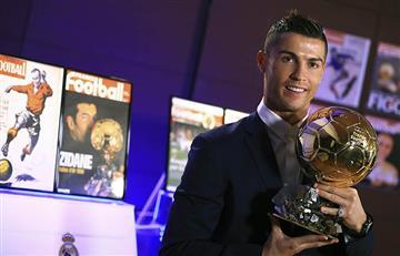 Cristiano Ronaldo consiguió su quinto Balón de Oro