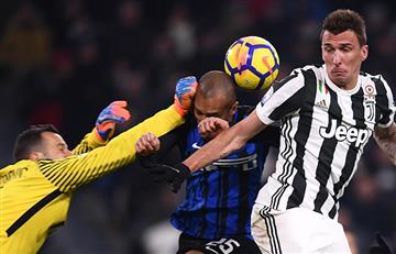 Juventus e Inter igualaron 0-0 por la Serie A