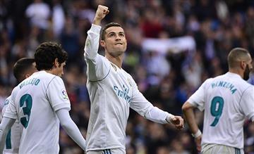 Real Madrid aplastó 5-0 al Sevilla por LaLiga