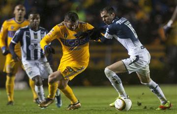 Tigres y Monterrey disputaron primer round por el título de la Liga MX