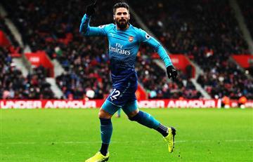 Arsenal consiguió un agónico empate ante el Southampton