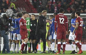 Liverpool y Everton igualaron en el Derby de Merseyside