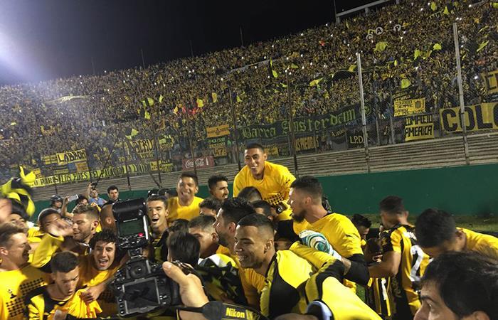 Peñarol logró el campeonato uruguayo. Foto: Twitter