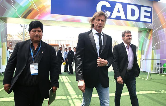 Edwin Oviedo es Presidente de la FPF desde el 2014. Foto: Andina