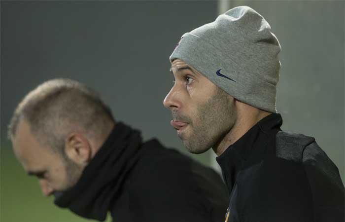 Javier Mascherano dejará el Barcelona en enero 7c44935965f9b