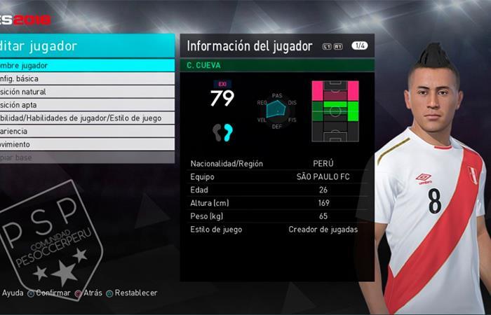 Selección Peruana  así luciría la camiseta en PES 2018 c0f15df8dfea5