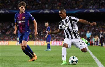 """Douglas Costa: """"La Juventus está al mismo nivel que Barcelona y Real Madrid"""""""