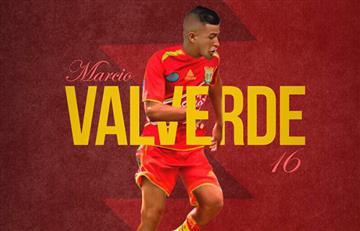 Marcio Valverde es el nuevo refuerzo de Sport Huancayo