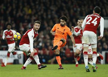 Arsenal empató 3-3 con el Liverpool por la Premier League