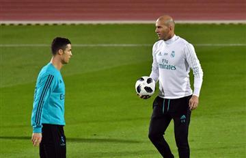 "Zinedine Zidane: ""Cristiano Ronaldo merece todo el respeto del club"""