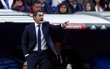 """Ernesto Valverde: """"La Liga todavía no está terminada"""""""