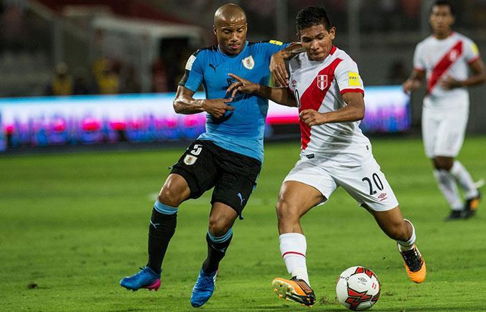 Edison Flores  marcó un total de 8 goles con la bicolor. Foto: Andina
