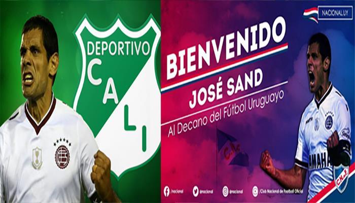 Así anunciaron los clubes el fichaje de José Sand (Foto: Twitter)