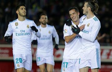 Real Madrid con pie y medio en los cuartos de final de la Copa del Rey