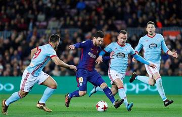 Barcelona apabulló al Celta con una extraordinaria actuación de Lionel Messi