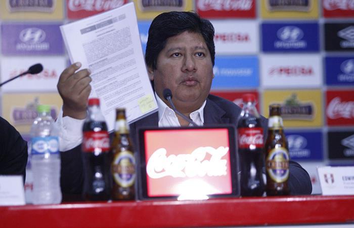 Edwin Oviedo (Foto: Andina)