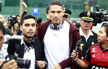 Paolo Guerrero sorprendió a todos al llegar a Lima