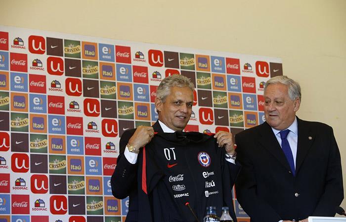 Reinaldo Rueda fue presentado como DT de Chile. Foto: AFP